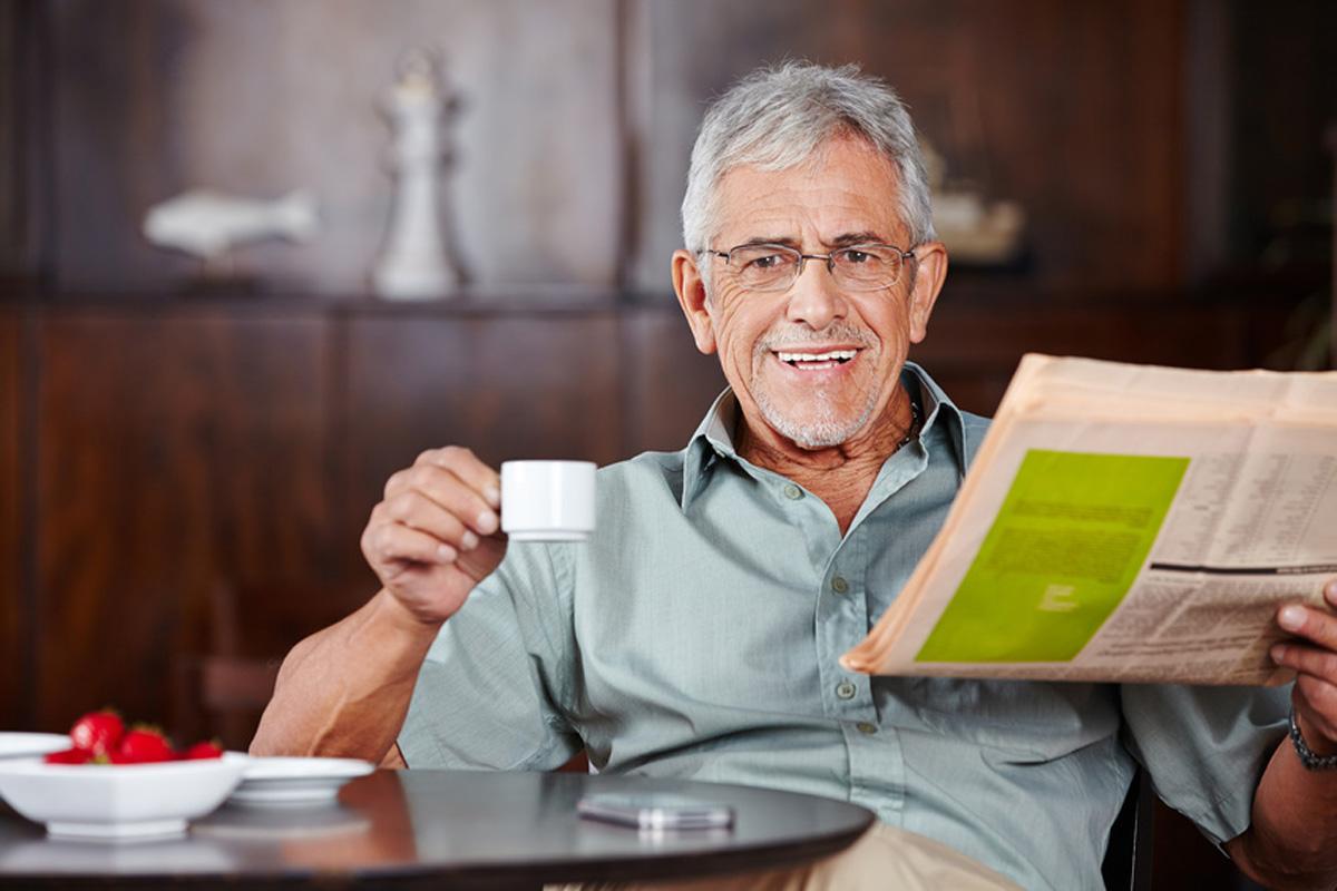 HELP-zertifizierte Seniorenassistenten haben Zeit, sich um alle Belange der Senioren zu kümmern.